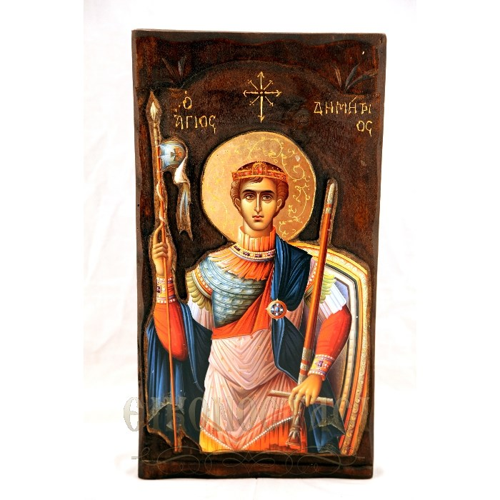 WOODEN ICON K4 ST. DEMETRIOS