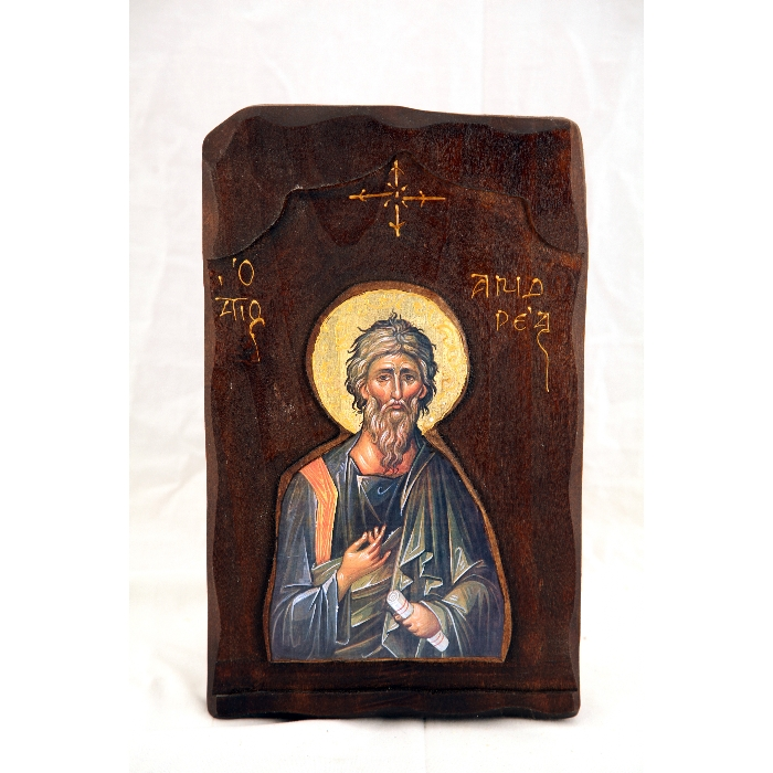 WOODEN ICON SAINT ANTREAS G3