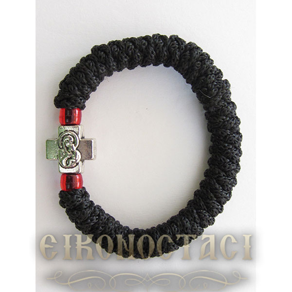 PRAYER ROPE BLACK FLEXIBLE