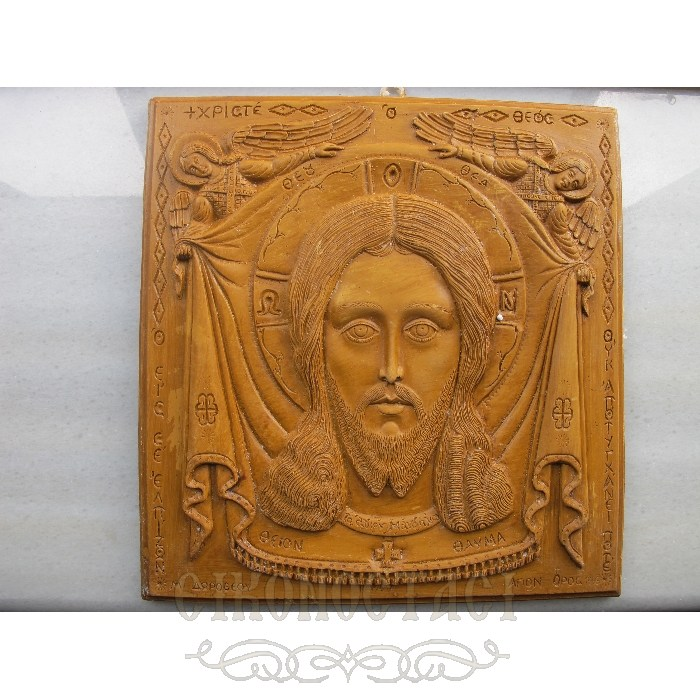 MONASTIC WAX ICON HOLY HANDKERCHIEF 4