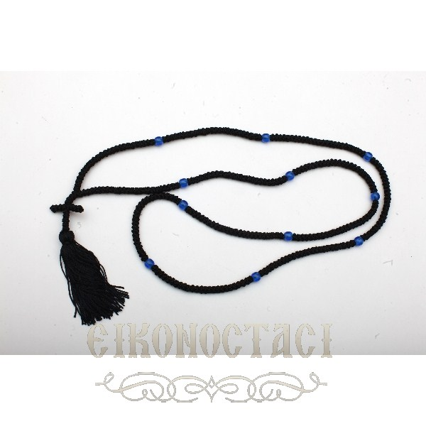 PRAYER ROPE 300 KNOTS BLACK