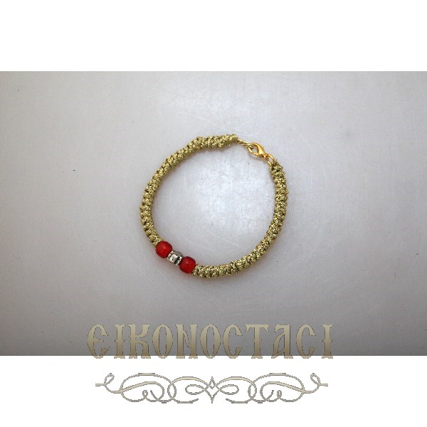 BRACELET PRAYER ROPE GOLD