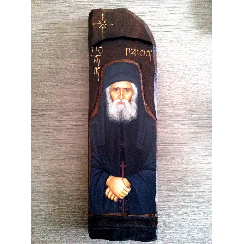 WOODEN ICON N10 - SAINT PAISIOS