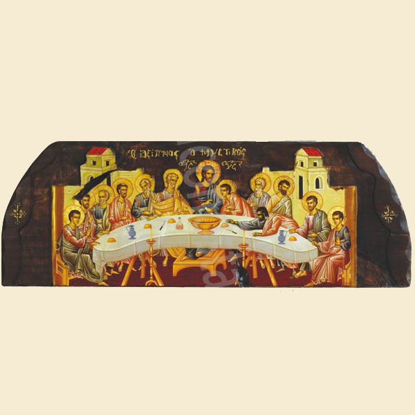 WOODEN ICON N4 MD LAST SUPPER