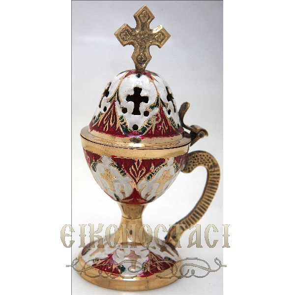 BRONZE HOME CENSER COLORED (78C)