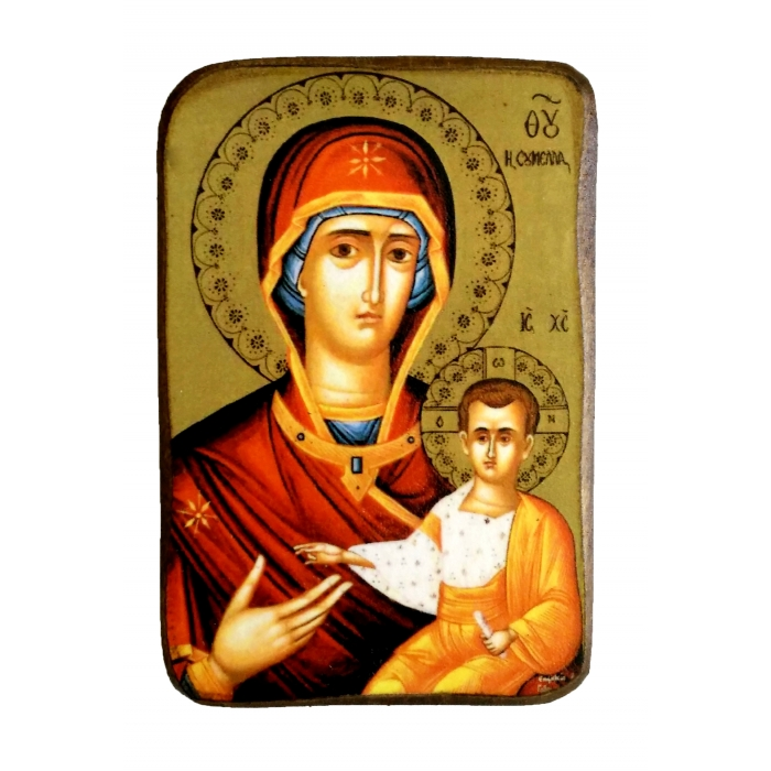 BOMBONNIERE ICON OF VIRGIN MARY SOUMELA A0