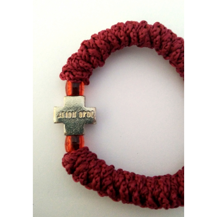 PRAYER ROPE ELASTIC RED