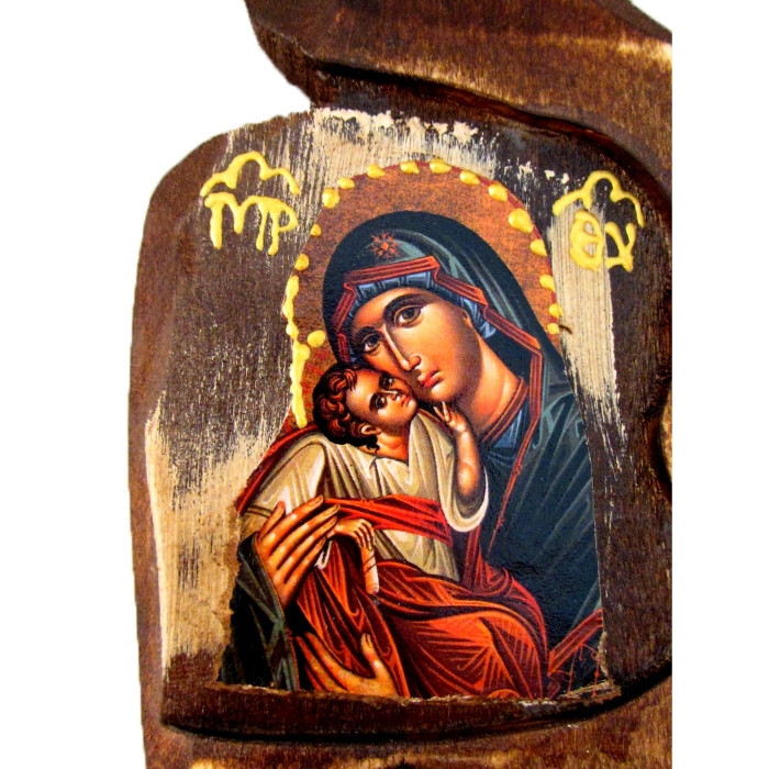 BOMBONNIERE ICON OF VIRGIN MARY & JESUS CHRIST SF00b