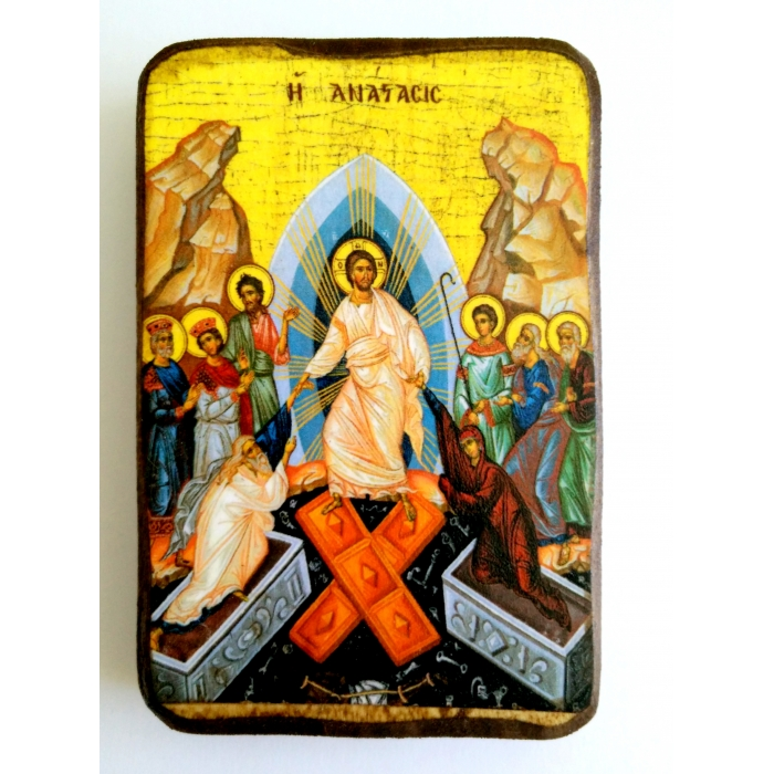ICON OF THE RESURRECTION A0