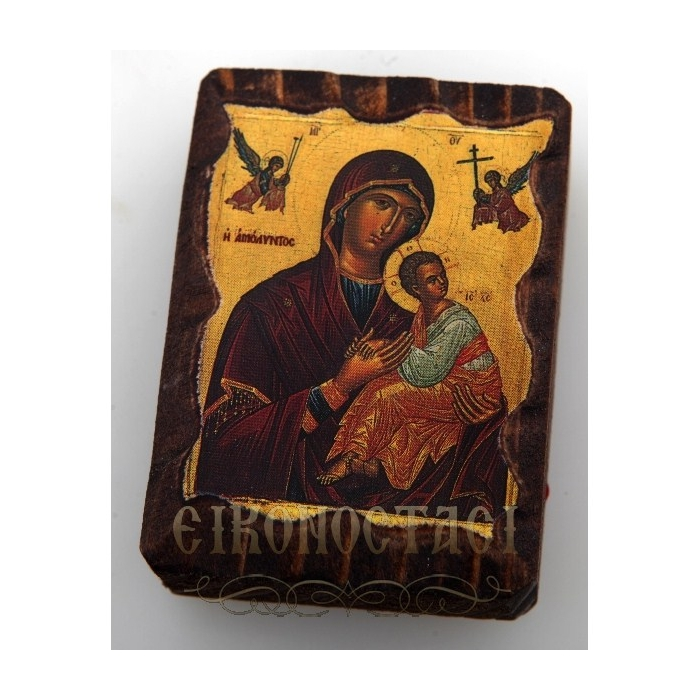 MINI LITHOGRAPHY no.5 VIRGIN MARY & JESUS CHRIST