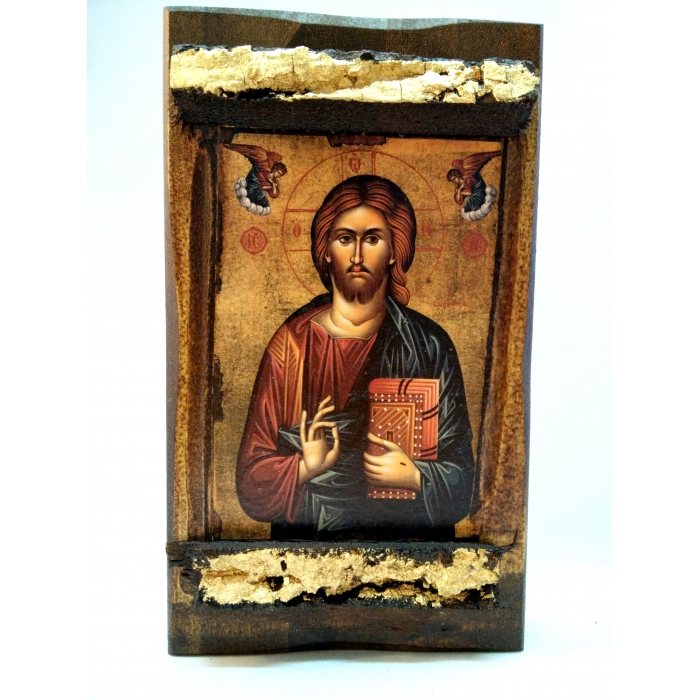 WOODEN ICON MP3/4 JESUS CHRIST