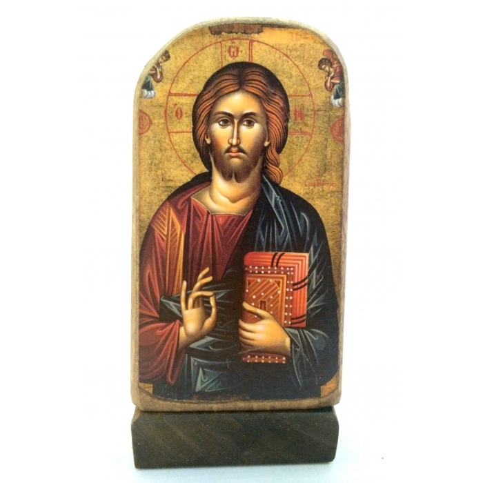 BOMBONNIERE WOODEN ICON MP5/2 JESUS CHRIST