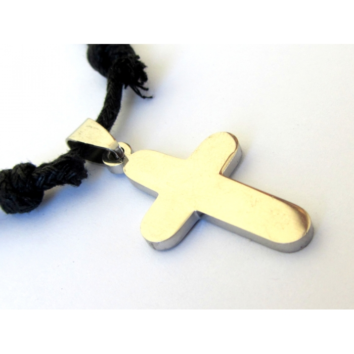 STAINLESS STEEL CROSS PENDANT no.40