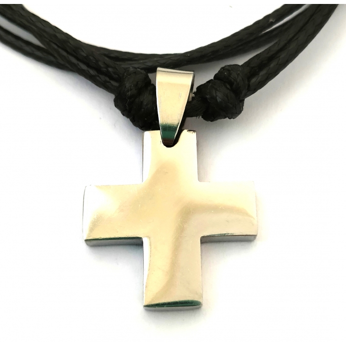 STAINLESS STEEL CROSS PENDANT no.39