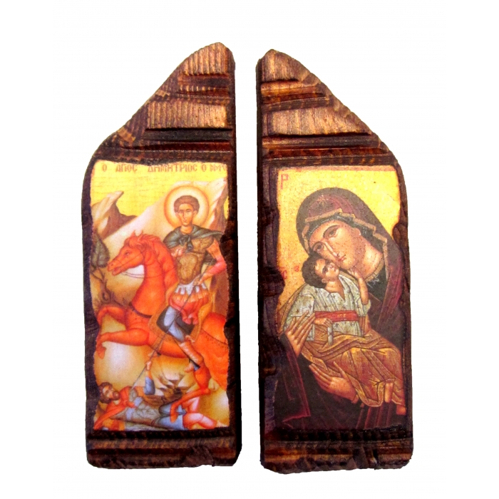 MAGNET ICON WITH VIRGIN MARY