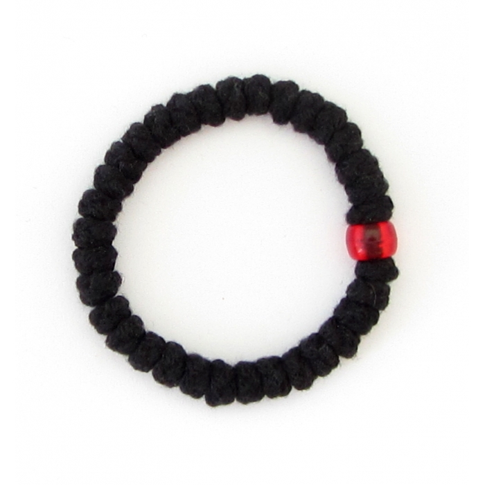 PRAYER ROPE WOOLEN BLACK