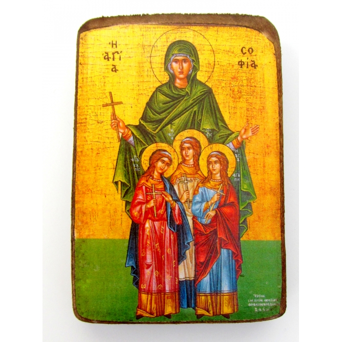 BOMBONNIERE ICON OF SAINT SOFIA A0