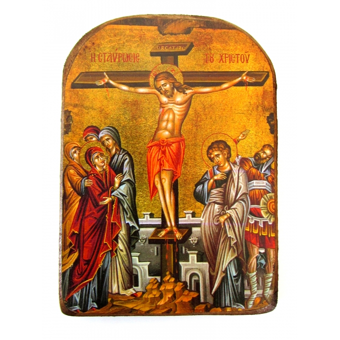 BOMBONNIERE ICON OF THE CRUSIFIXION MP2 13x9 cm