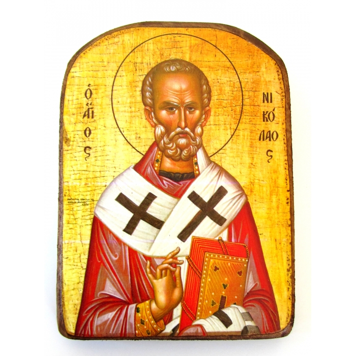 BOMBONNIERE ICON OF SAINT NICHOLAS MP2