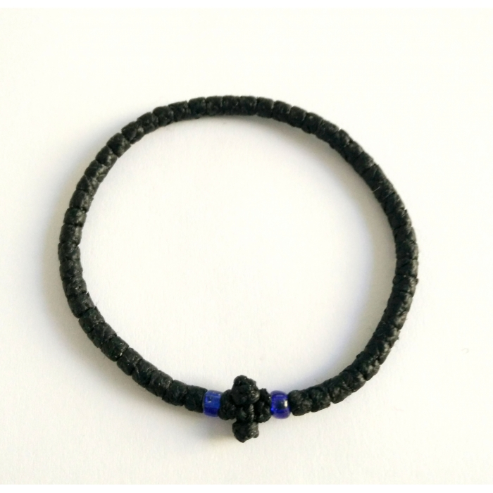 PRAYER ROPE THIN BLACK