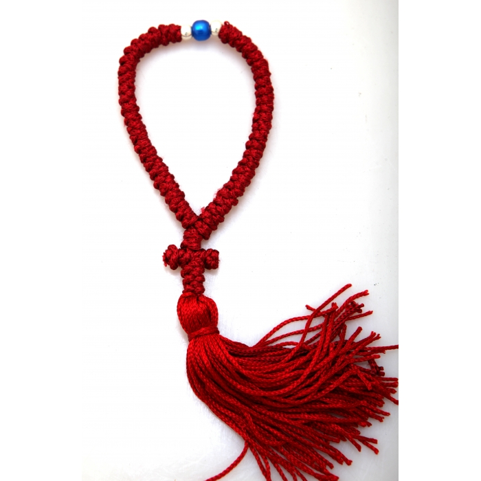PRAYER ROPE 50 KNOTS RED/1