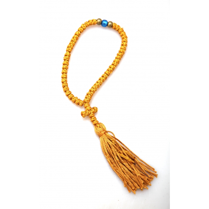 PRAYER ROPE 50 KNOTS GOLD
