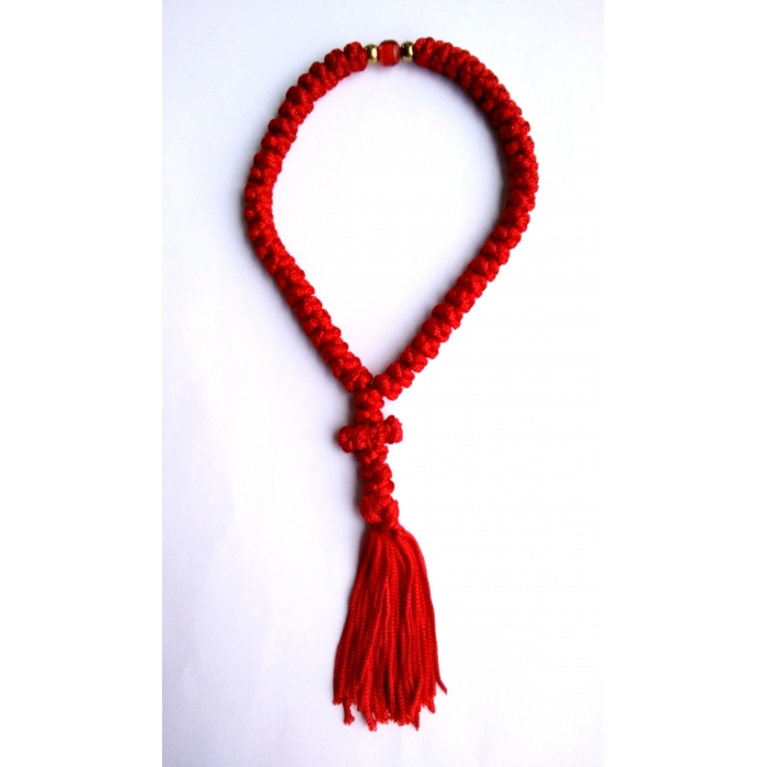 PRAYER ROPE 50 KNOTS RED/2