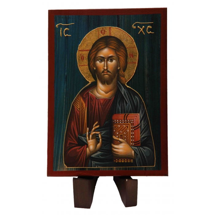 WOODEN ICON WITH JESUS CHRIST a2/2