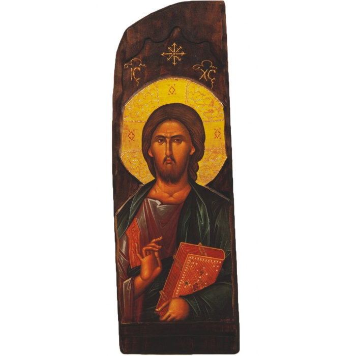 WOODEN ICON OF JESUS CHRIST N4