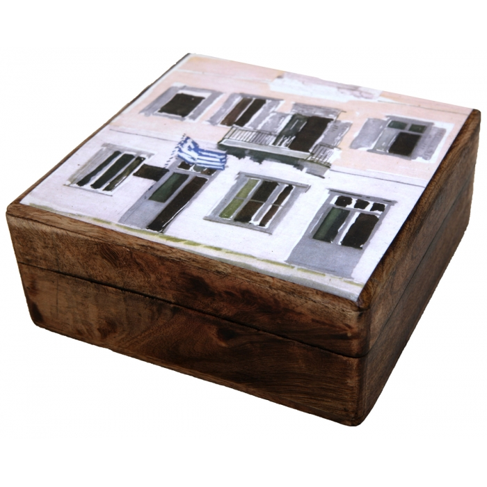 WOODEN STORAGE BOX (R31)