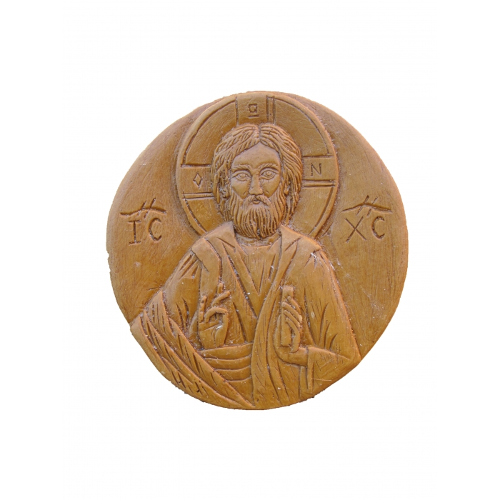 MONASTIC WAX ICON JESUS CHRIST