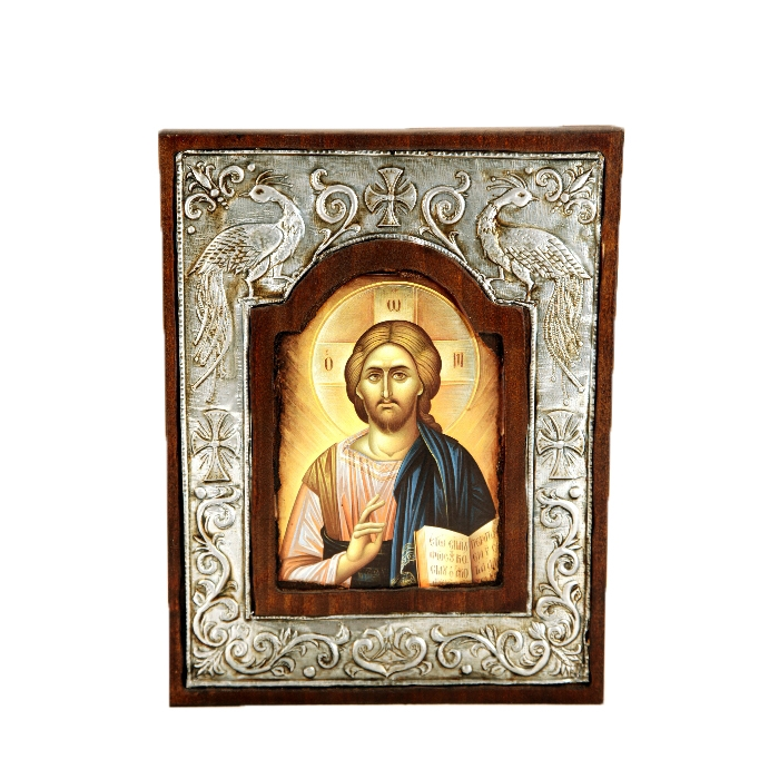 WOODEN ICON WITH JESUS CHRIST Y10A