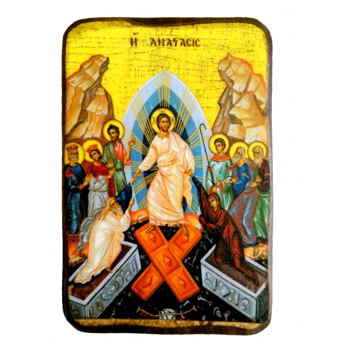 BOMBONNIERE ICON OF THE RESURRECTION A0