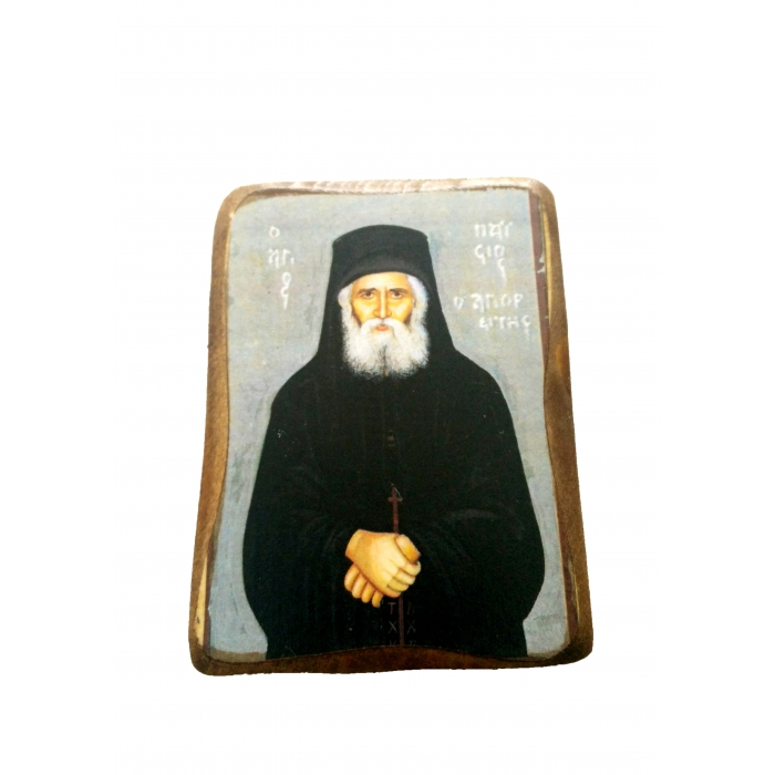 BOMBONNIERE ICON OF SAINT PAISIOS A02