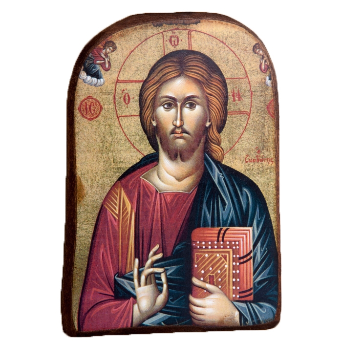 BOMBONNIERE WOODEN ICON MP2_2 JESUS CHRIST