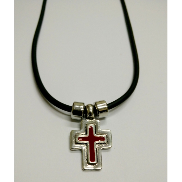 METALLIC CROSS PENDANT no.13