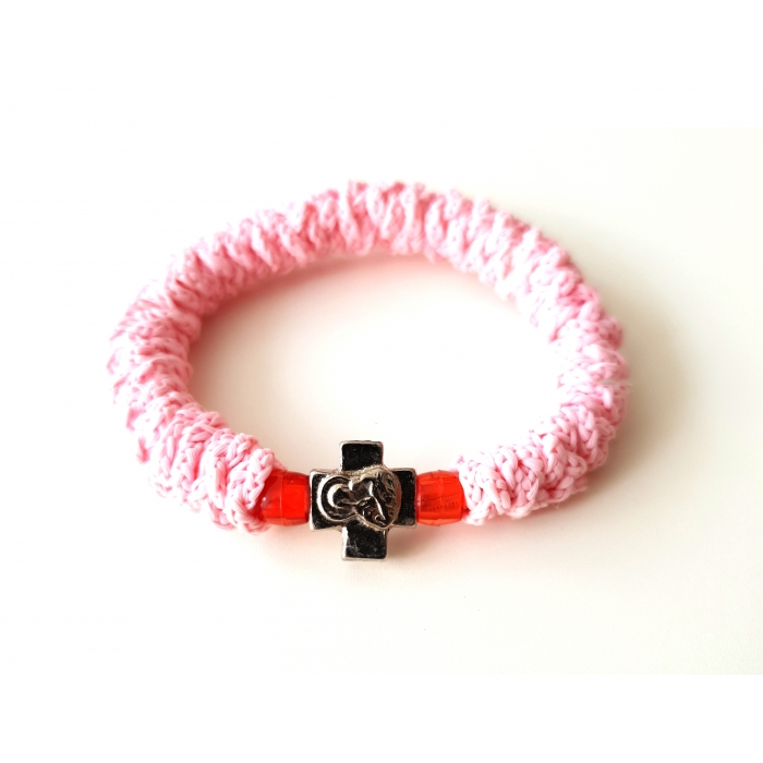 PRAYER ROPE LIGHT PINK
