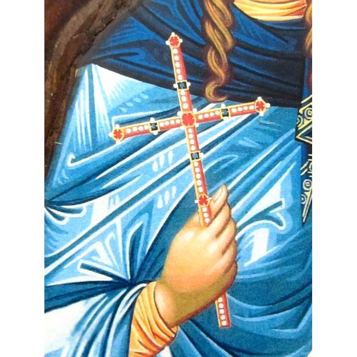 WOODEN ICON K4 SAINT TATIANI 52x28 cm