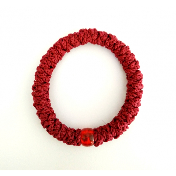 PRAYER ROPE RED ELASTIC