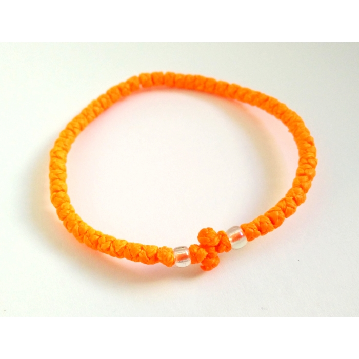 PRAYER ROPE THIN ORANGE