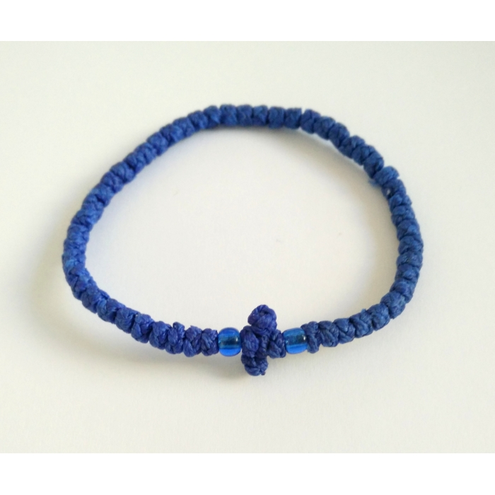 PRAYER ROPE THIN BLUE