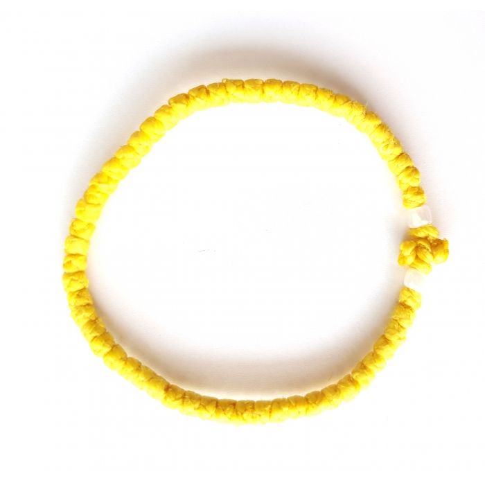 PRAYER ROPE THIN YELLOW