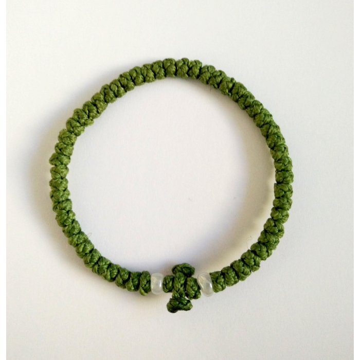 PRAYER ROPE THIN GREEN