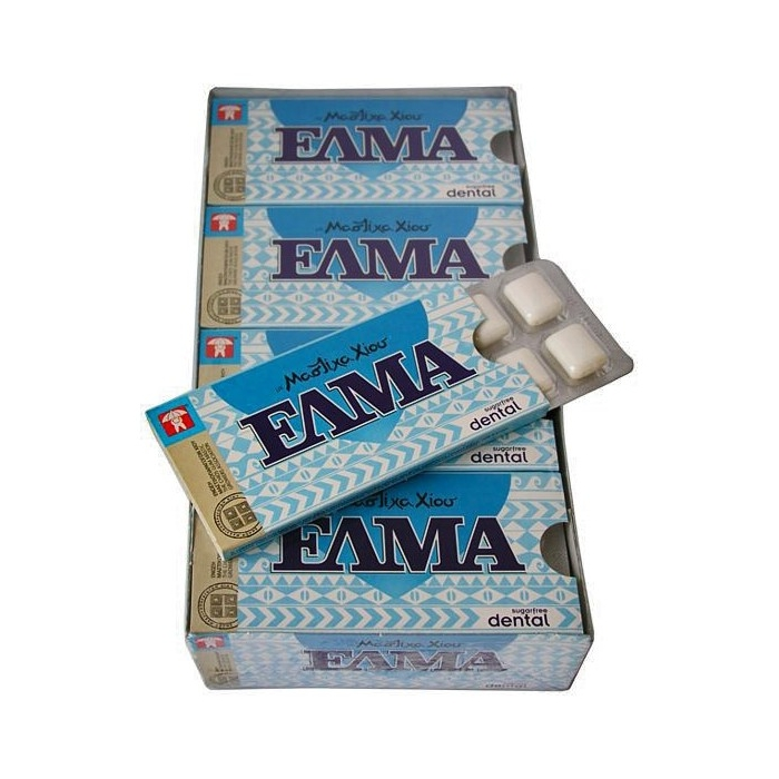 10 x CHEWING GUM MASTIHA DENTAL