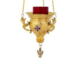 Church Gold Plated Oil Lamps