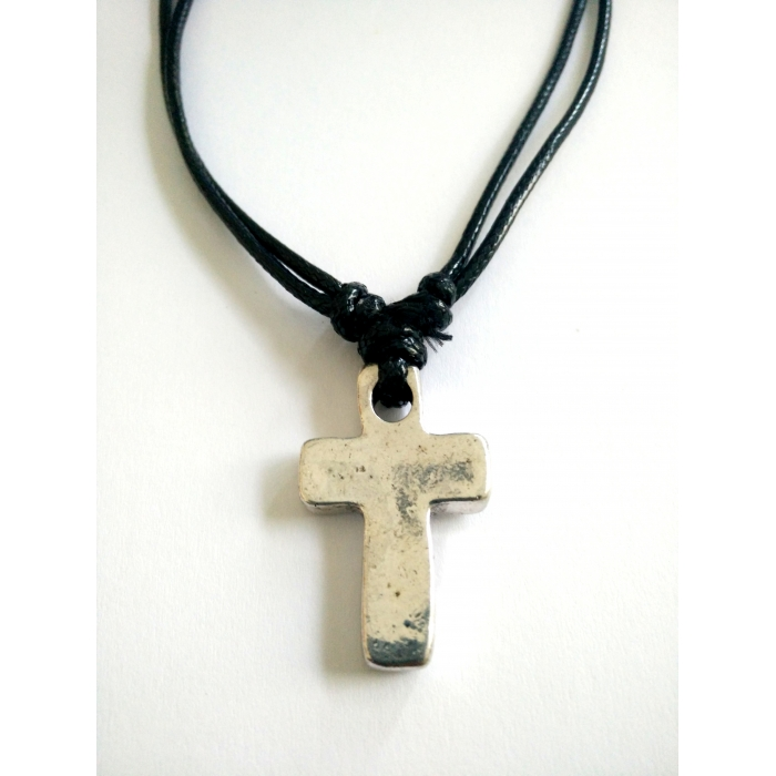 METALLIC CROSS PENDANT no.22