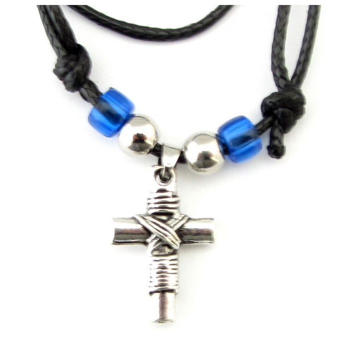 METALLIC CROSS PENDANT no.21