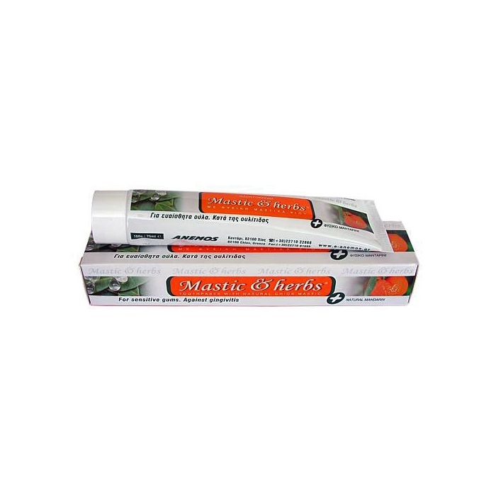 TOOTHPASTE WITH CHIOS MASTIHA AND BIO MANDARIN 75 ml