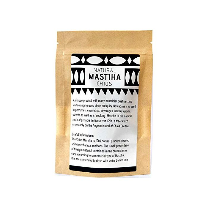 Handmade glycerine mastic soap with mastiha oil 100gr