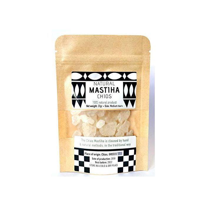 Natural olive oil mastic soap 125gr